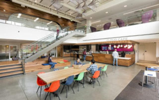 oracle campus cloud cafe interior shot